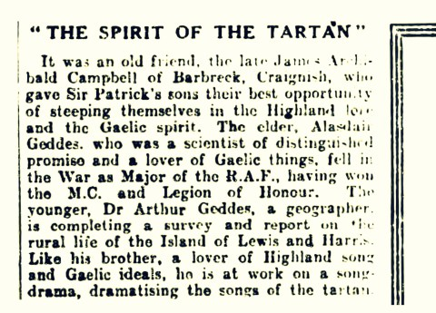 The Spirit of Tartan