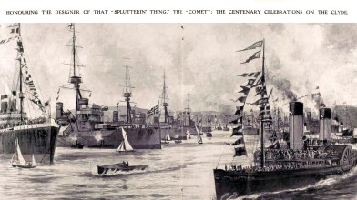 1912 The Comet centeneray - river Clyde