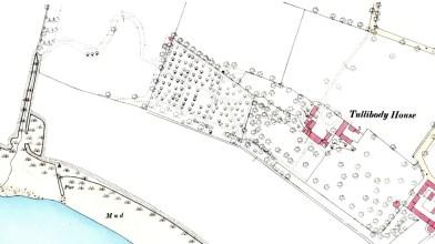 Tullibody House, OS map 1862