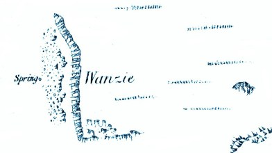 Wanzie 1861 map