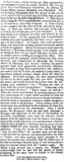'A New Comet' - April 1862 on James Miller of Haldrick
