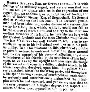 March 1844 Robert Steuart of Steuarthall - Copy