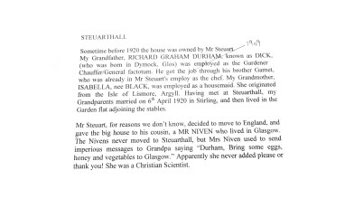 a gardener's family shares some of the story of Steuarthall (2) - Copy