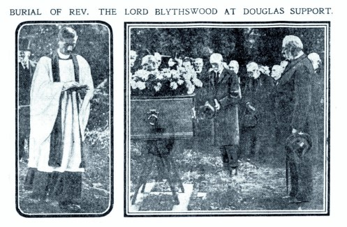 Oct 1916 Douglas Support burial