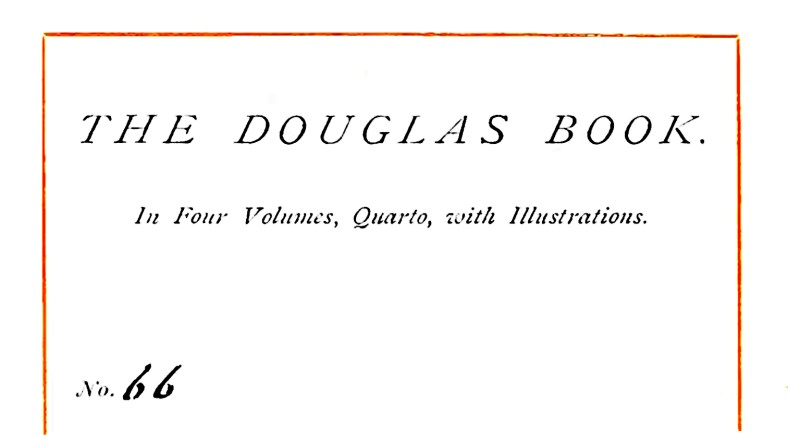 The Douglas Book