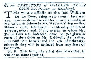 William Delacour, Edinburgh (2)