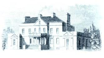 Whitehaugh House 1840s sketch