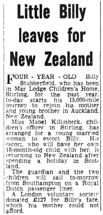 April 1962 - Little Billy (Mar Lodge)