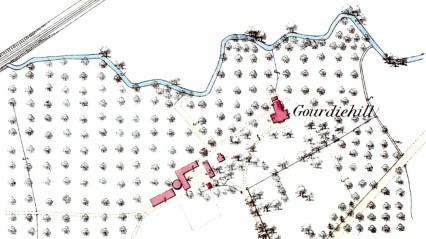 Gourdiehill 1st OS map