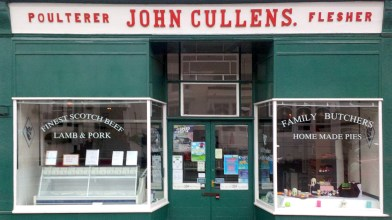 John Cullens, Butcher, Bridge of Allan - 2020
