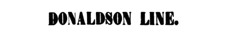 Donaldson Line 1916