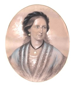 Catherine Hay, wife of G R Mercer