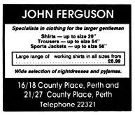 John Feguson, Perth, Nov 1988