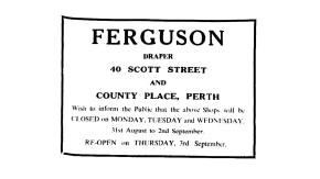John Feguson, Perth,Aug 1942