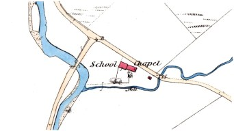 1862 map Glen Fruin School
