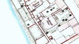 Roxburgh Place, Kelso, 1858, OS map