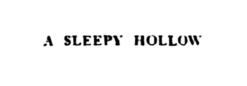 a sleepy hollow - Glenhove Tomb