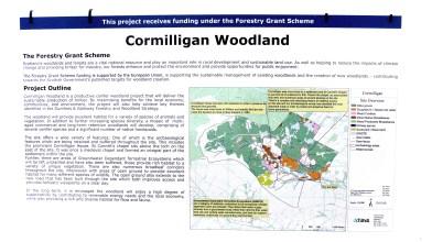 Cormilligan woodland - 10 May 2021