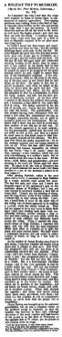 High Dalblair - Irvine Times - Feb 1883