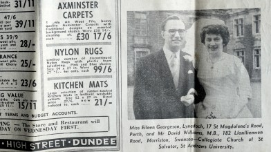 1 April 1963 - The Courier (the day Dai Williams married Eileen Georgeson) (1)