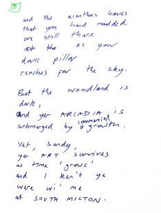 Aberdeen Arms, Tarland - An electric razor [donated] poem 2
