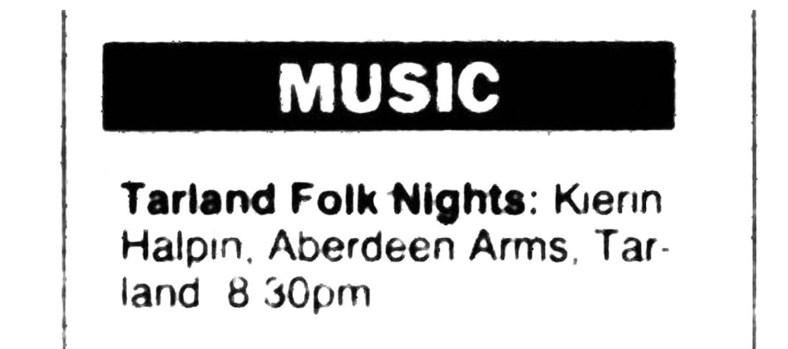 March 1995 Aberdeen Arms, Tarland