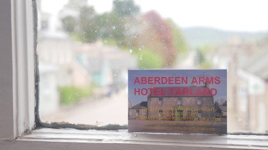 Peter Gordon stays at the Aberdeen Arms, Tarland - end of May 2021 (6)