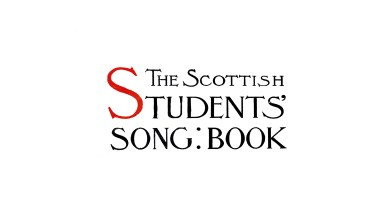 The Scottish Students' Song Book - owned by Eileen Georgeson [1]
