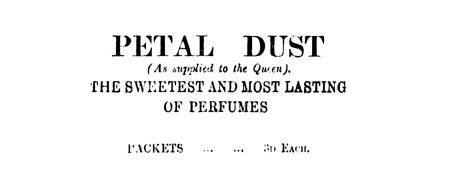 Petal Dust March 1903 Kirkintilloch