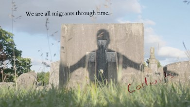 Peter J Gordon, Kilsyth Cemetery - Sunday 7th June 2020 (we are all migrants through time)