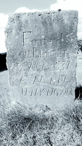 Tombs in Corgraff of Margaret Cruickshank and an 'UNKNOWN MAN' [photos 28 May 2021] (5)