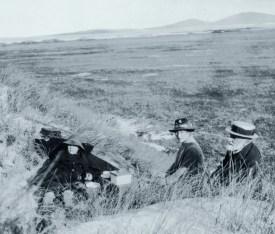 1919 picnic on Vallay - Erskine Beveridge