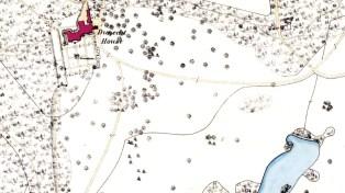 Dunecht House - 1st OS map