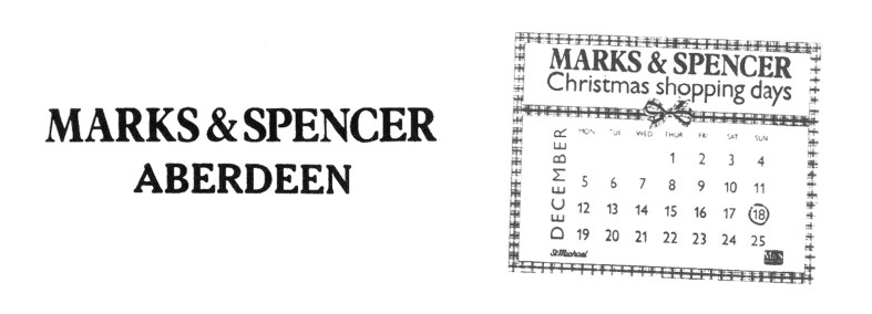Marks and Spencer Aberdeen 1980s