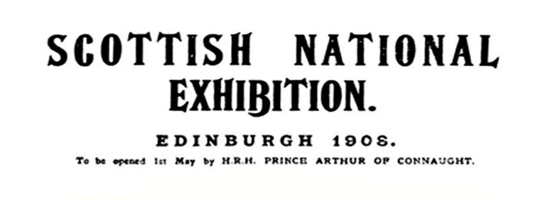 Scottish National Exhibition, Edinburgh, 1908 (16)