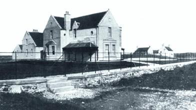 Vallay House early days