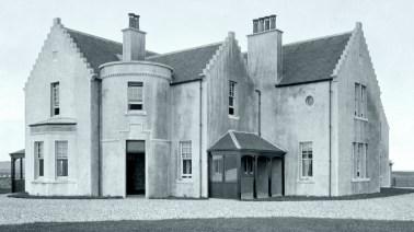 Vallay House newly built