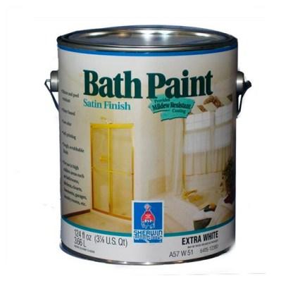 Sherwin Williams Bath Paint Satin Finish