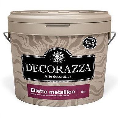 Декоративная краска Decorazza Effetto Metallico