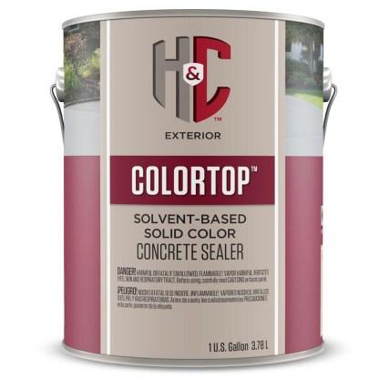 H&C Concrete Sealer Solid Color лак для бетона и камня