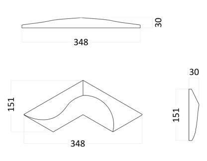 Artpole CORAL гипсовые 3D панели