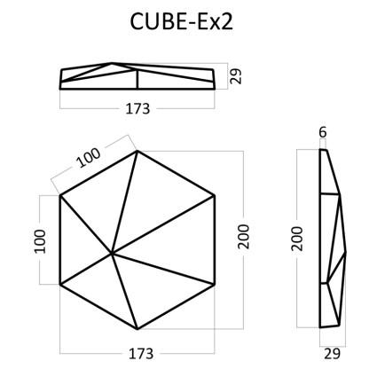 Artpole CUBE Ex2