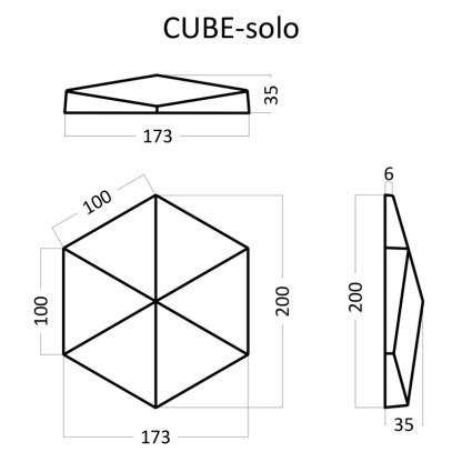 Artpole CUBE Solo