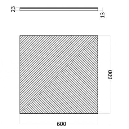 Artpole Fields 1 гипсовые 3D панели