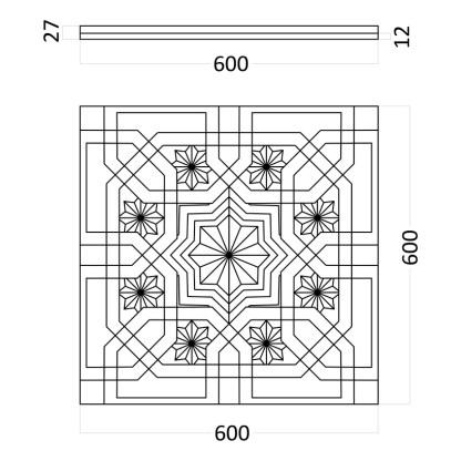 Artpole SULTAN гипсовые 3D панели