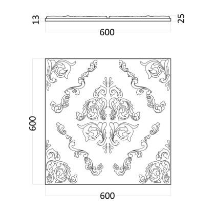 Artpole Versalle гипсовые 3D панели