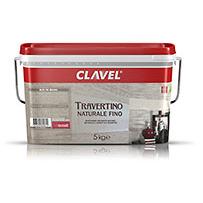 Декоративная штукатурка Clavel Travertino Naturale Fino