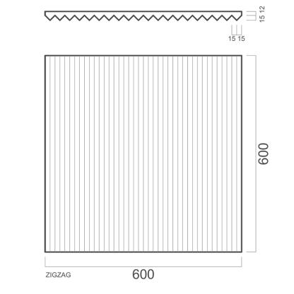 Гипсовые 3D панели Artpole Zigzag