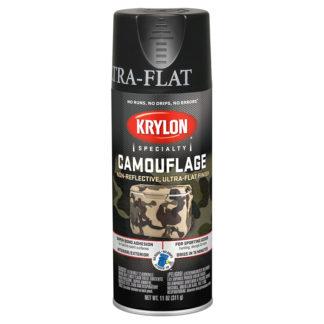 Krylon Camouflage Black 4290