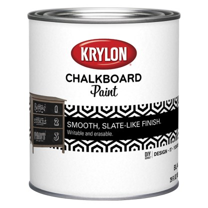 Krylon Chalkboard Black KDQ5223 краска для школьной доски